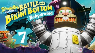 ROBO-SANDY Bosskampf im POSEIDOM 🧽 SPONGEBOB: BATTLE FOR BIKINI BOTTOM REHYDRATED #7