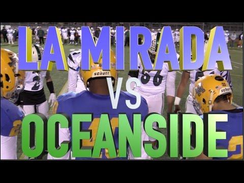 La Mirada vs Oceanside - CIF State SoCal Regional Division III-AA Championship : UTR Highlight Mix