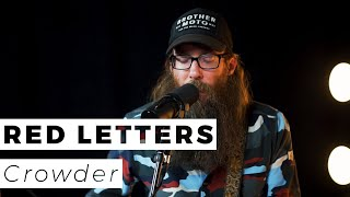 Crowder   Red Letters (Live)   WAY Nation One Take