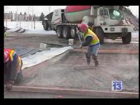 Cold Weather Concrete - Fairbanks, AK - KXD-CBS13