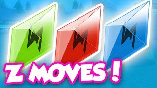 HOW TO GET Z CRYSTALS AND USE Z MOVES IN POKEMON BRICK BRONZE!!
