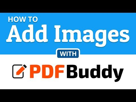 How to add images to a PDF file | PDF Buddy
