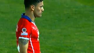 Chile 4 - 1 Argentina Copa America Final 2015 Penalty Shoot-out