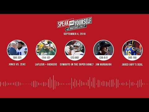 SPEAK FOR YOURSELF Audio Podcast (9.04.19) With Marcellus Wiley, Jason Whitlock | SPEAK FOR YOURSELF
