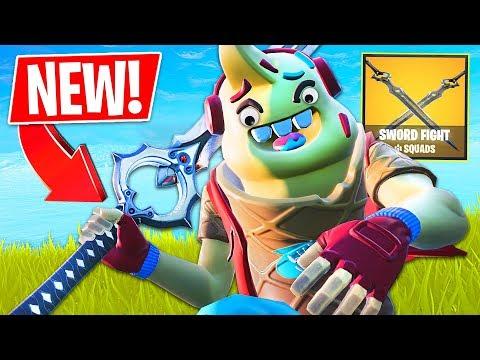 *NEW* Fortnite *SWORD FIGHT* Game Mode!! (Fortnite Battle Royale Gameplay) thumbnail