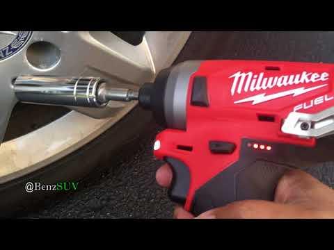 Milwaukee M12 impact driver beats Ridgid 18 Volt, both brushess