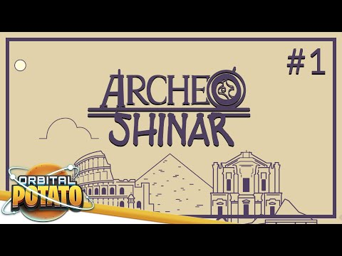 Archeo: Shinar Full Release - Economic Strategy Management Game - Episode #1