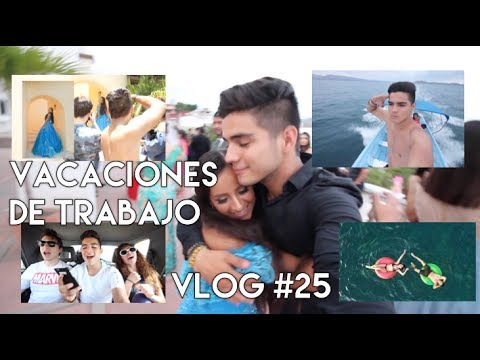 VACACIONES DE TRABAJO - VLOG #25
