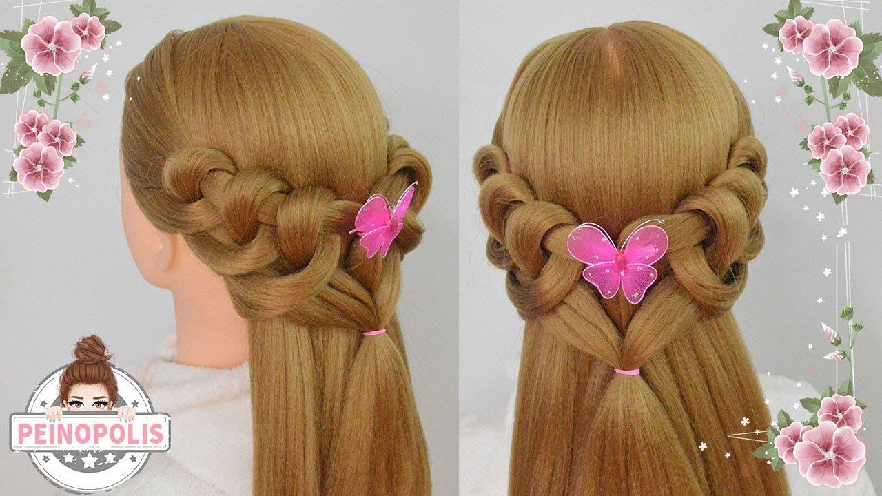 Peinados faciles y rapidos para cabello largo - Peinados de fiesta cabello largo ...