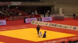 GS Tokyo 2014 52 Miranda E BRA Babamuratova G TKM