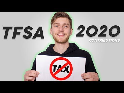 TFSA Contribution 2020 - Tax Free Compound Interest!