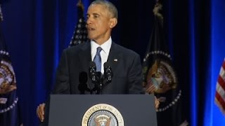 Obama Says Citizens Must Protect Way of Life