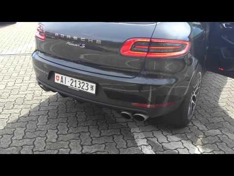 Porsche Macan S sound