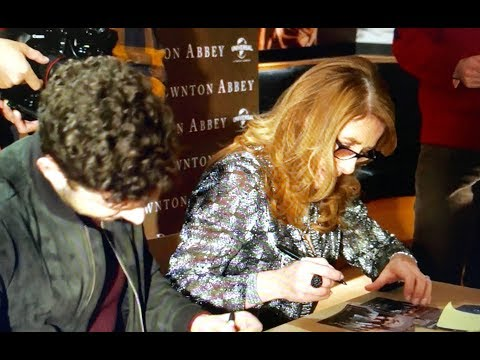 """""""DOWNTON ABBEY"""" – AUTOGRAPH SESSION with PHYLLIS LOGAN and MICHAEL FOX – MILAN ITALY, 12.12.2016"""