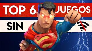 TOP 6 MEJORES JUEGOS ¡Sin INTERNET! 2020 | Juegos Android & iOS para CELULAR ¡DIVERTIDOS y OFFLINE!