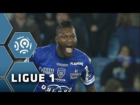 Djibril Cisse scores a STUNNING volley (68') - SC Bastia - FC Sochaux-Montbéliard (2-2) - 05/04/14