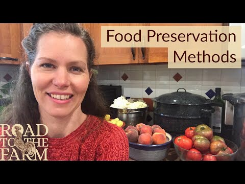 BEGINNER'S GUIDE to food preservation methods