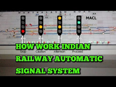 indian railway automatic signal system