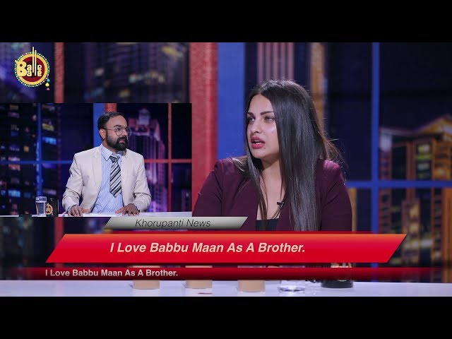 E04 - Khorupanti News with Lakha Ft. Himanshi Khurana || Balle Balle TV || Full Interview