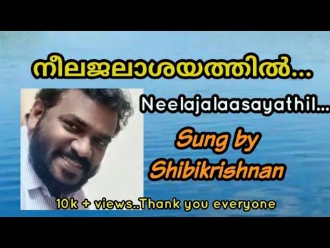 Shibikrishnan Songs Neelajalasayathil Hamsangal...