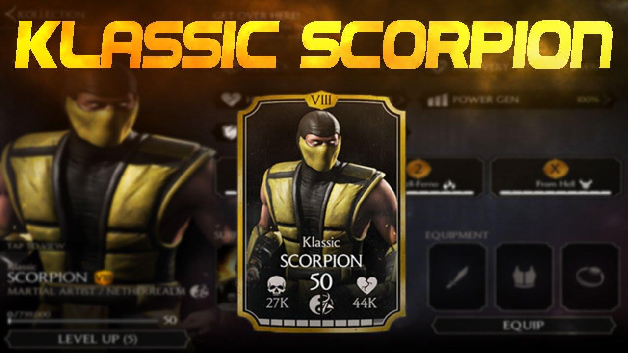 Mkx Scorpion