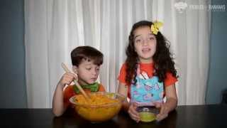 Pickles & Bananas - The Cooking Kids - Sweet Potato Casserole