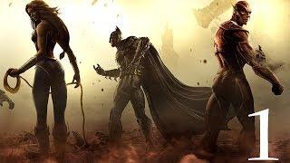"Injustice: Gods Among Us ""Прохождение"" ч.1 PC MAX SETTINGS"