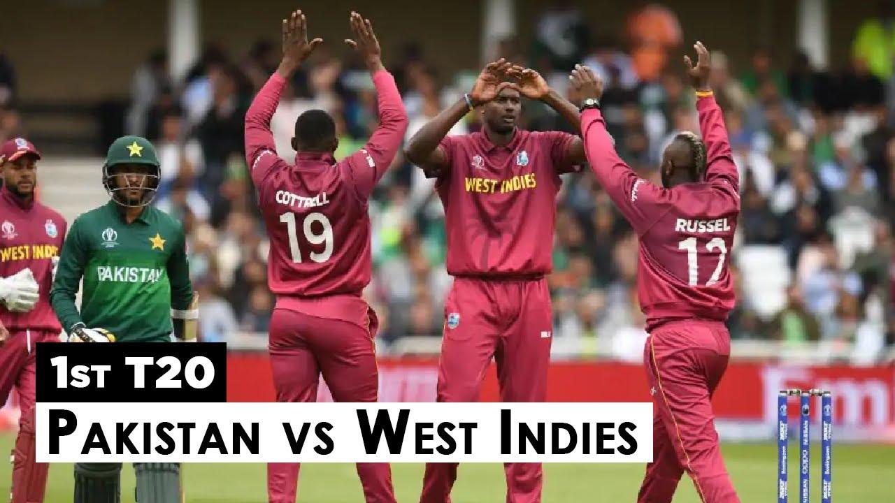 Pakistan Vs West Indies Highlights   1st T20   PCB