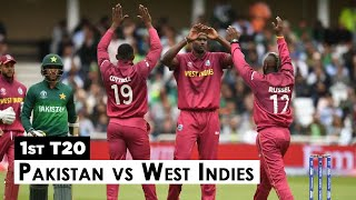 Pakistan vs West Indies Highlights | Fakhar Zaman | Sarfaraz Ahmed | 1st T20 | PCB