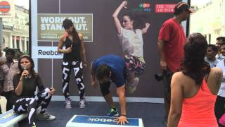 Rohit chaudhary Rahagiri fitness test at CP on Independence Day !