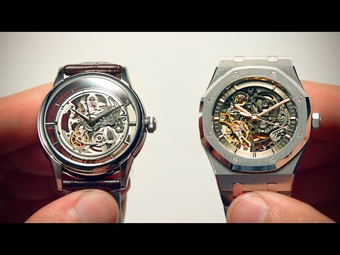 Can You Tell The Difference Between Cheap And Expensive Skeleton Watches? | Watchfinder & Co.