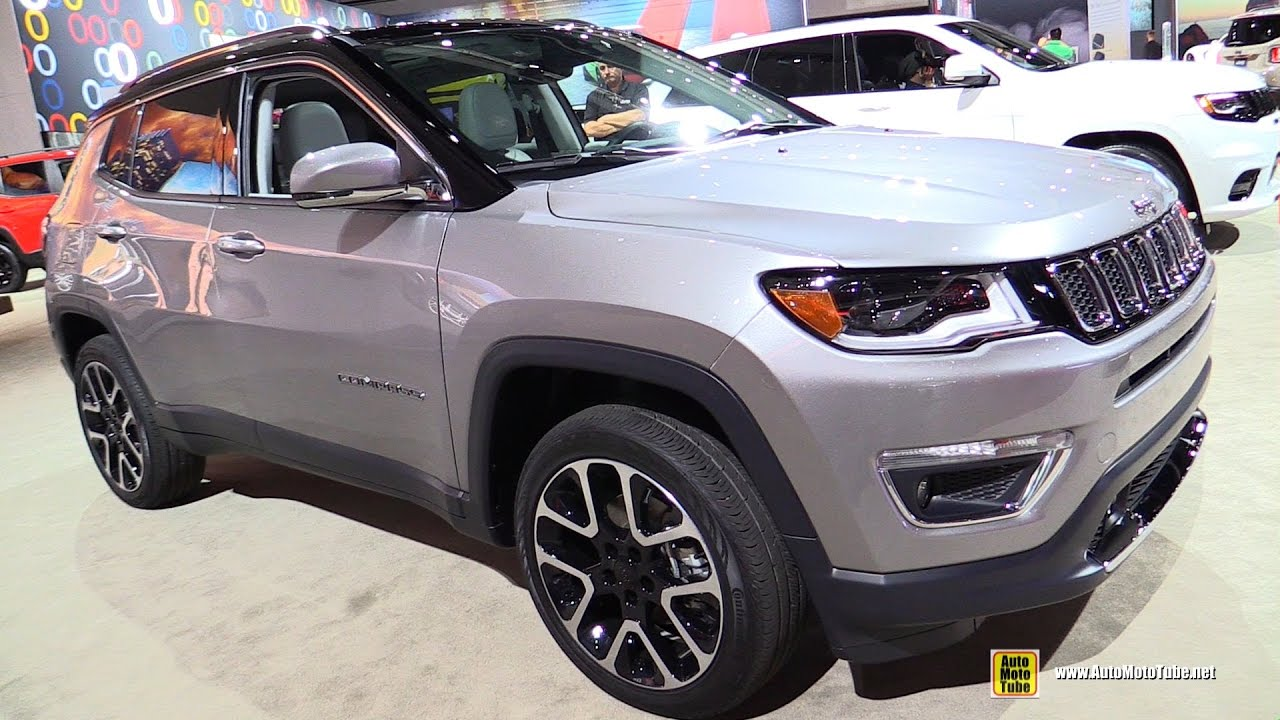 2017 jeep compass limited exterior and interior walkaround debut at 2016 la auto show youtube. Black Bedroom Furniture Sets. Home Design Ideas