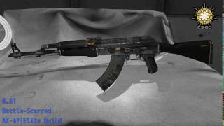 AK-47 Elite Build - Skin Wear Preview