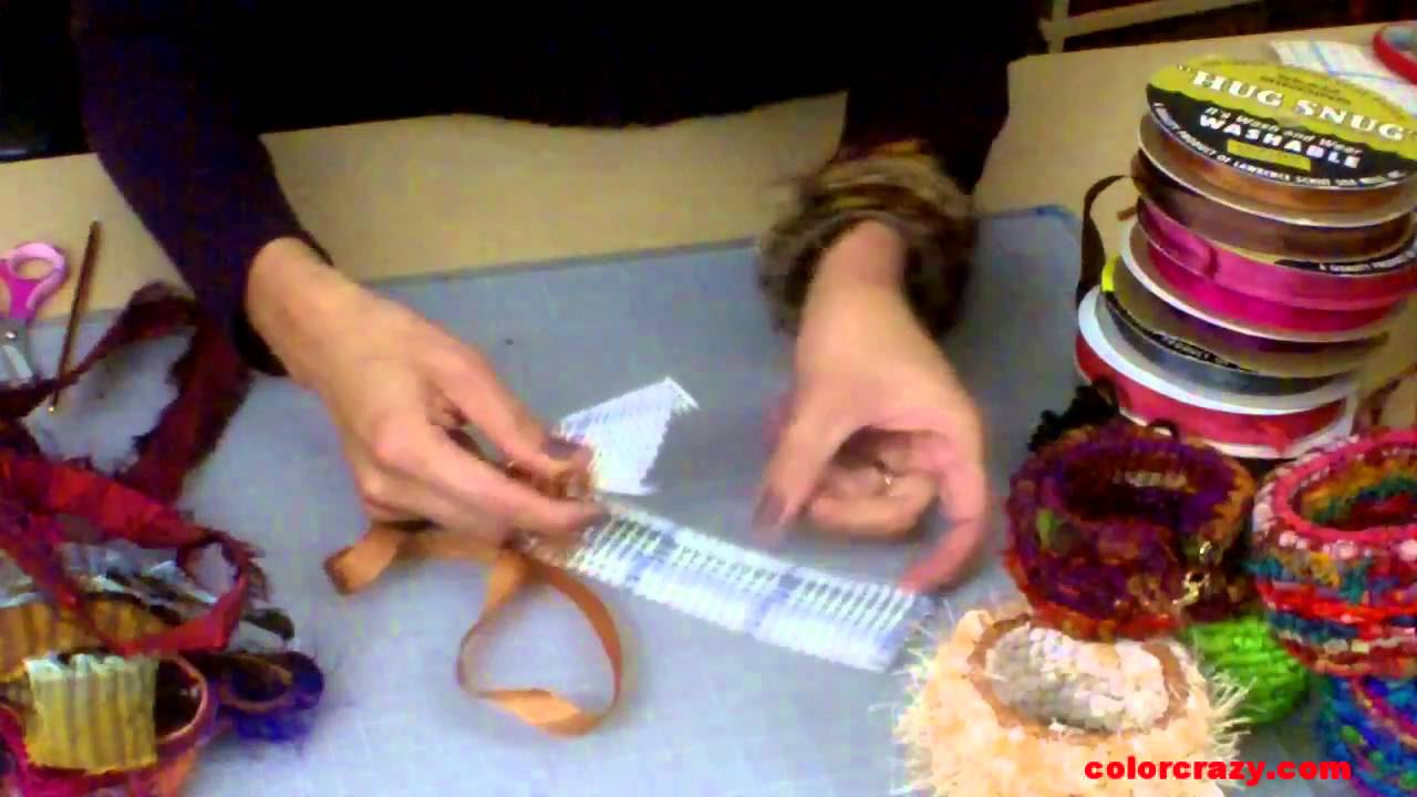 How To Make Locker Hooked Bangle Bracelets Youtube