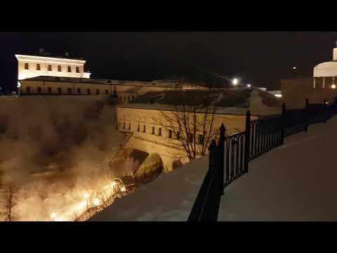 Ночной Тобольск Кремль
