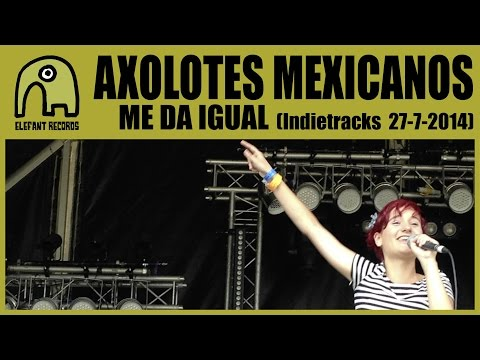 AXOLOTES MEXICANOS - Me Da Igual [Live Indietracks | Outdoor Stage, 27-7-2014]