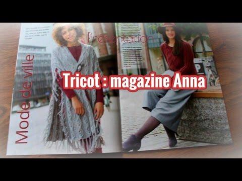 Tricot pull, cardigan, robe : présentation magazine
