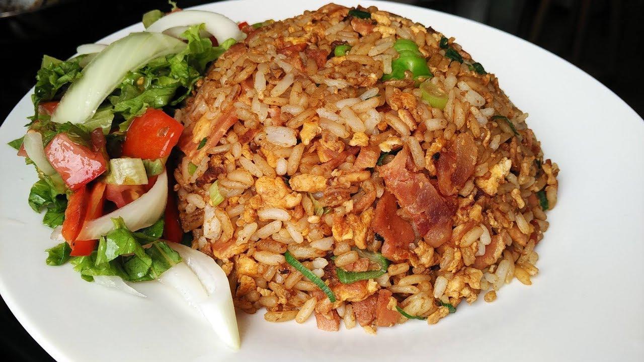Como hacer arroz cantones chino facil y rapido a mi estilo / Cocina ...
