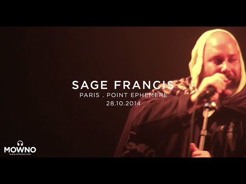 SAGE FRANCIS - Live in Paris
