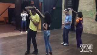 Samba Rock Intermediário Aula 4 (Ago/13) - Centro Cultural Monte Azul