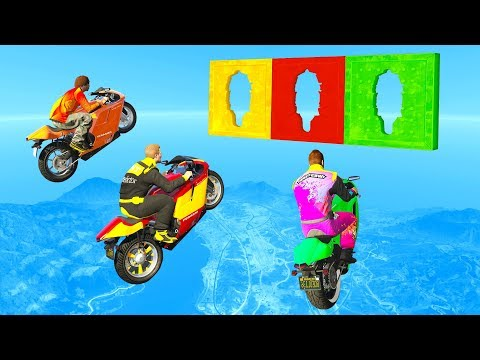 Fly Through The HOLE And You WIN! - GTA 5 Funny Moments thumbnail