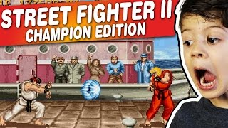 STREET FIGHTER II CHAMPION EDITION - Arcade - Gameplay Comentado em Português PT-BR
