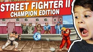 STREET FIGHTER II CHAMPION EDITION - Arcade - Gameplay Comentado em Português PT-BR