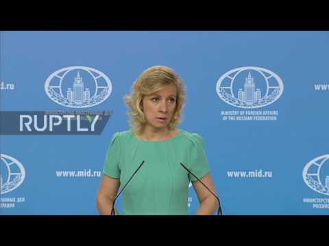 Russia: 'Large-scale provocation' – Zakharova on US allegations of Syrian chemical attack