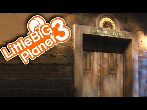 SPOOKY ELEVATOR SURVIVAL! | Little Big Planet 3 Multiplayer (143)