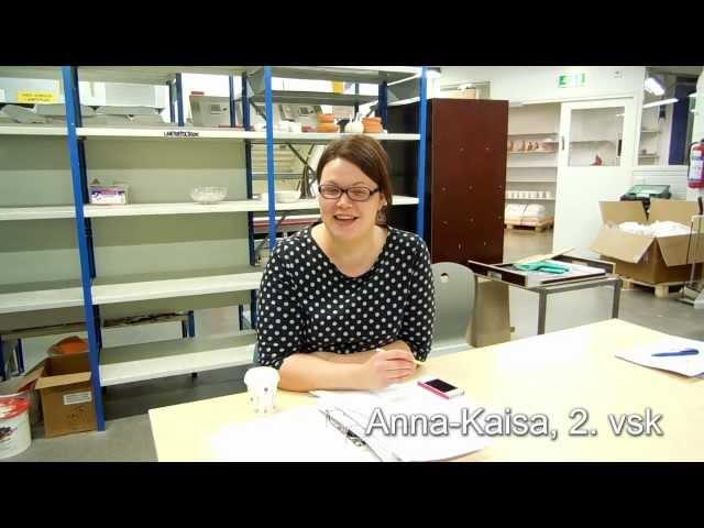 Emmi, viikko 3: Muotoilun opiskelijoiden esittely