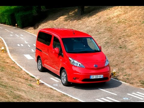 essai nissan e nv200 evalia 7 places youtube. Black Bedroom Furniture Sets. Home Design Ideas