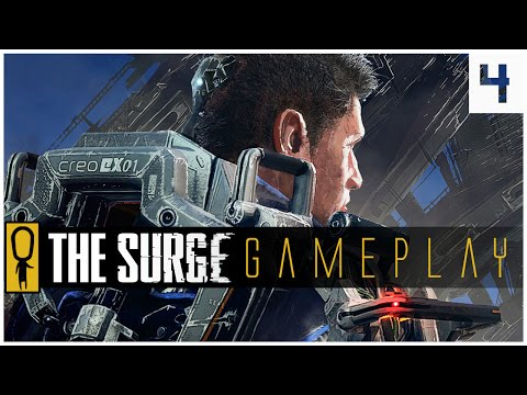 THE SURGE GAMEPLAY PC - PART 4 - HOBBS AND DAVEY - Let's Play The Surge Gameplay