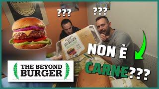 ✅HAMBURGER VEGANO BEYOND MEAT: SEMBRA CARNE VERA?
