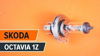 Montavimo Ašies montavimas SKODA OCTAVIA Combi (1Z5): nemokamas video